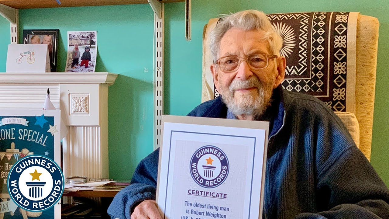 WORLD'S OLDEST MAN is 112-year-old Englishman - Guinness World Records