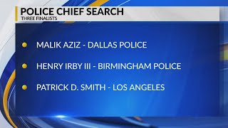 Police chief search narrows