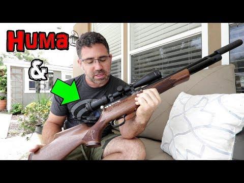 NEW Daystate Huntsman Regal XL Huma Regulated - Vlog 01
