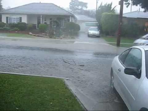 Rain Storm in Long Beach, California '10