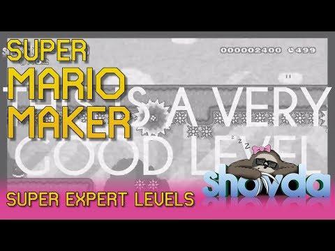 shovda - Super Mario Maker - Highlights - April 9-13