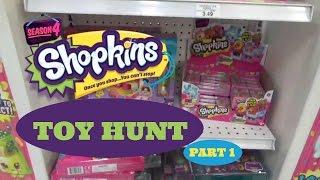 Toy Hunt for Shopkins Season 4 Pt1 | Toy Mania TV