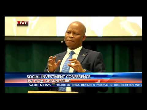 Justice Mogoeng at the social investment conference