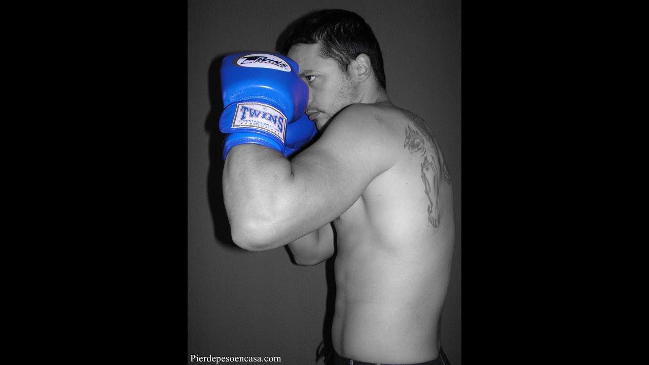 Bajar de peso entrenando boxeo