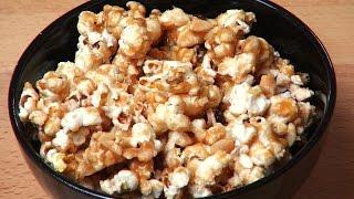 Caramel Nut Popcorn  One Pot Chef