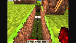 [MINECRAFT] Open a door with levers on both sides