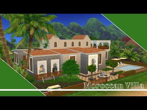 The Sims 4 Courtyard Oasis Kit Speed Build | PlumbobSims |