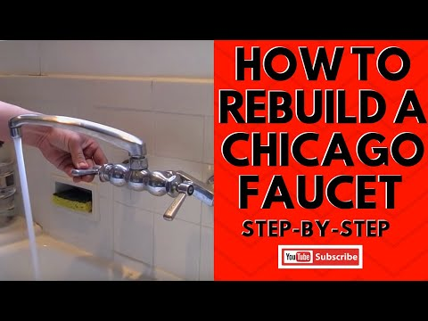 How to Rebuild a Chicago Faucet Step-by-Step