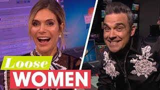 Robbie Williams Takes Control of the Gallery to Pull a Prank on Wife Ayda | Loose Women