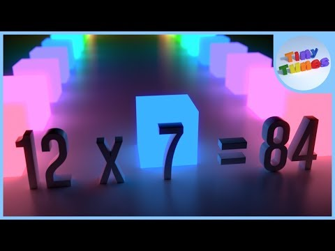 7 Times Table Song For Kids | Tiny Tunes