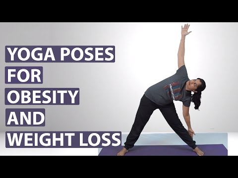 Yoga Poses For Obesity Youtube