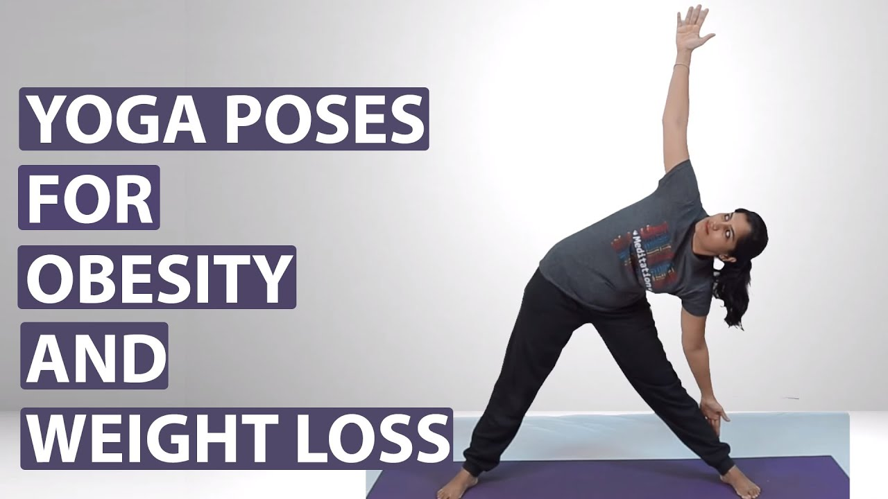 Yoga Poses For OBESITY - YouTube