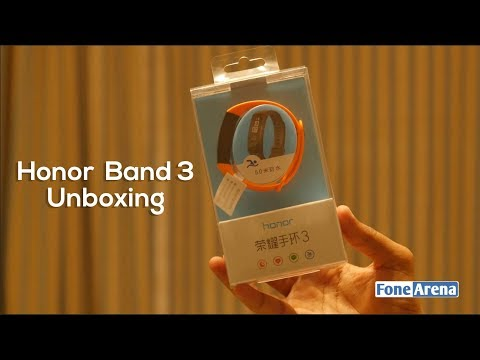 Honor Band 3 Unboxing