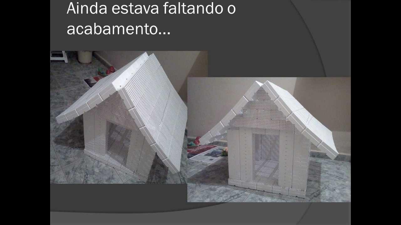 Super como fazer casa de cachorro reciclada - YouTube SE88