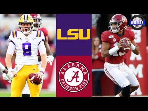 #2 LSU Vs #3 Alabama Highlights   NCAAF Week 11   College Football Highlights