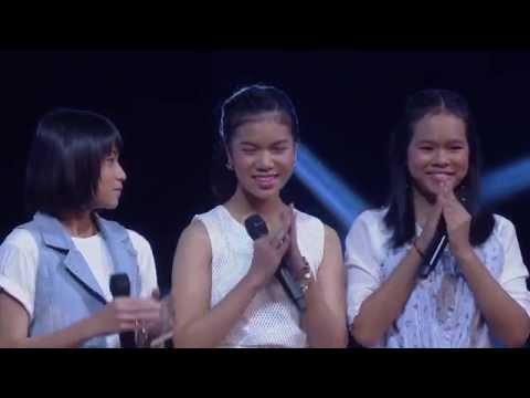 The Voice Kids Thailand - Battle Round - ฟ้า VS สไปร์ท VS แป้ง - รู้ไหมทำไม - 8 Mar 2015