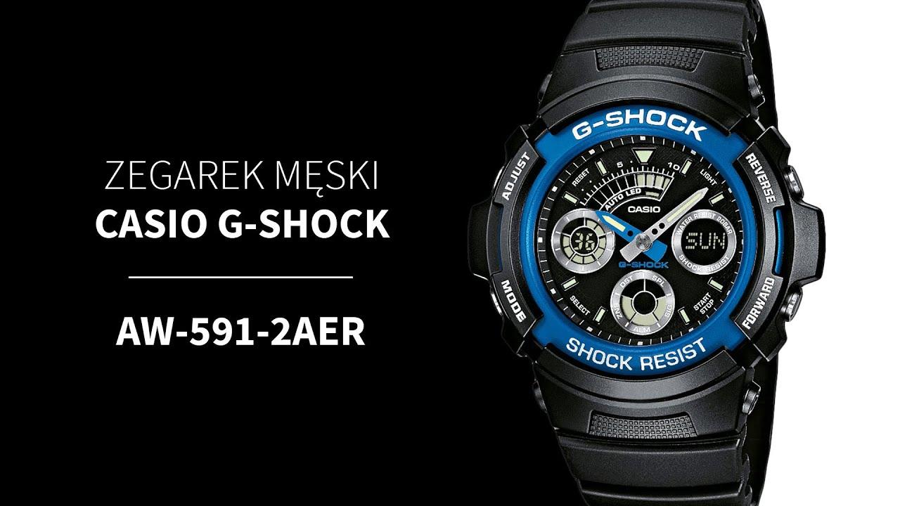 6c9a7e3fd93b0f Casio AW-591-2AER - Zegarek G-SHOCK • Zegarownia.pl