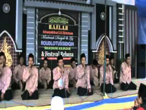 festifal rebana - Sholawat Nurussa'adah