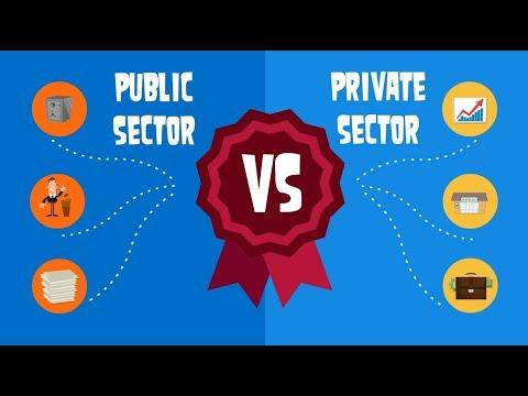 Public sector vs Private sector