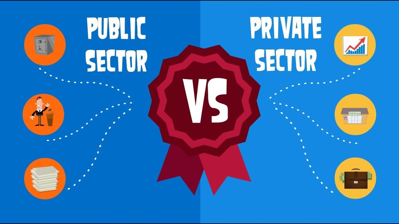 the difference between private and public sector