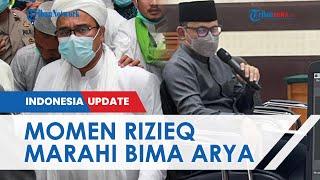Rizieq Shihab Ngamuk saat Bima Arya Jadi Saksi Sidang, Sebut Walkot Bogor Bohong di Atas Kebohongan