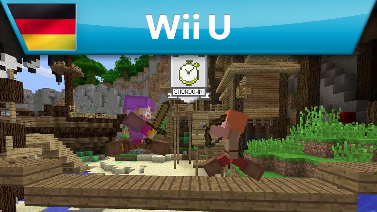 Minecraft Wii U Edition Minecraft Battle Mini Game YouTube - Minecraft mit tieren spielen