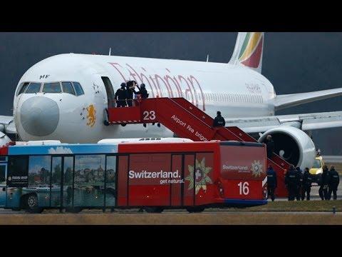 Ethiopian Airlines co-pilot hijacks plane to seek Geneva asylum