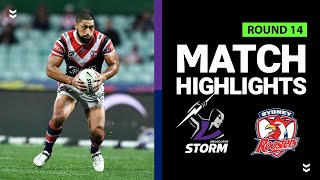 Roosters v Storm | Round 14 2020 | Telstra Premiership | NRL