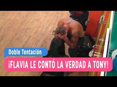 Doble Tentación - ¡Flavia le contó la verdad a Tony! / Capítulo 77