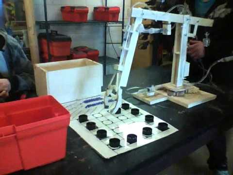 Hydraulic crane model youtube for Make a crane