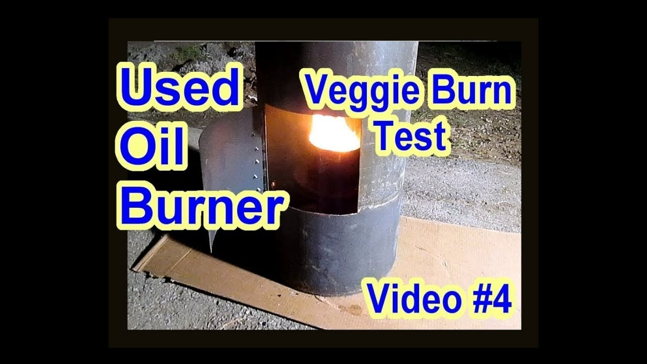 Diy waste used motor oil burner heater furnace vegetable for Burning used motor oil for heat
