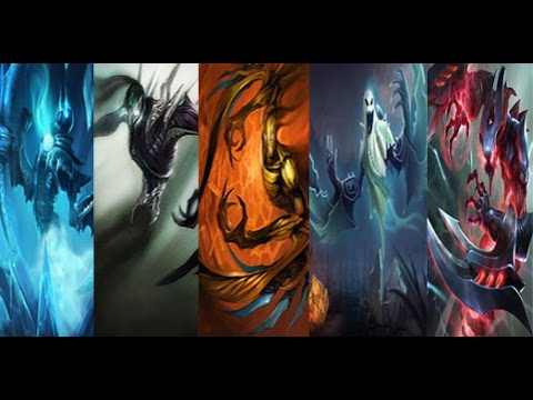 League of Legends - ALL Nocturne Skins Spotlight (With ...