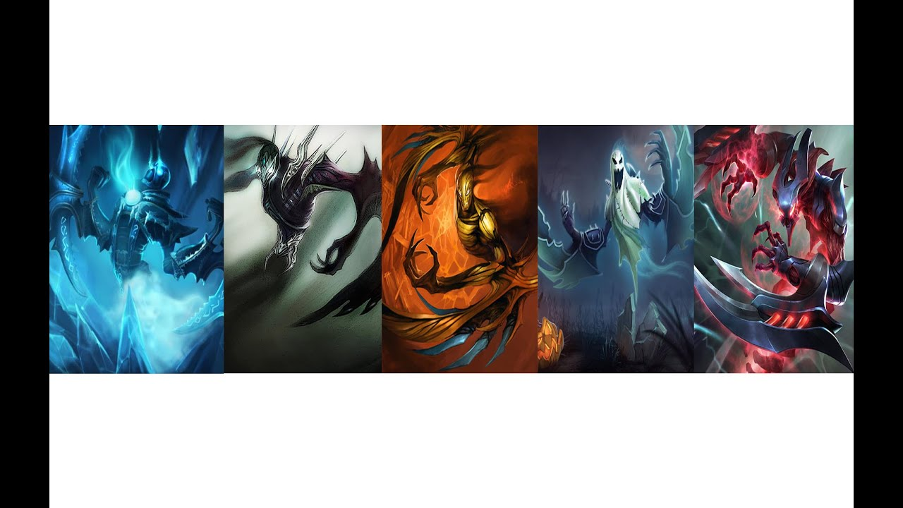 League of Legends - ALL Nocturne Skins Spotlight (With Abilities) - YouTube