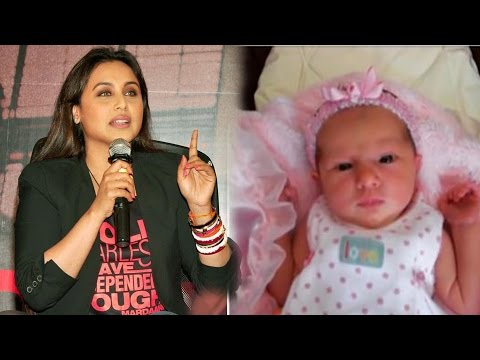 Rani Mukerji's Baby Adira's FIRST Pictures Are Going Viral !