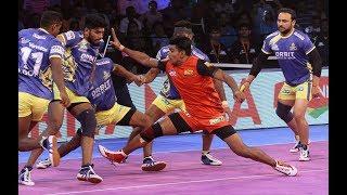 Pro Kabaddi 2018 Highlights | Tamil Thalaivas Vs Bengaluru Bulls | Hindi