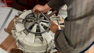 ÇAMAŞIR MAKİNESİ KAZAN RULMANI Değiştirme / WASHING MACHINE BOILER BEARING Replacement