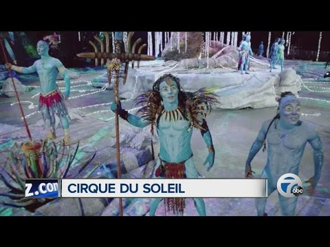 """Cirque Du Soleil"" at the Palace, inspired by James Cameron's ""Avatar"""