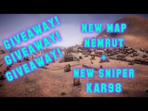 *giveaway*-new-map-nemrut-+-testing-new-sniper-rifle-kar98- -zula-europe