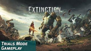 Extinction – Trials Mode Gameplay