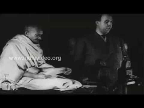 Gandhi Speech Video archive