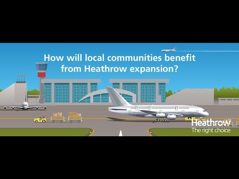 How will Heathrow's local communities benefit from expansion?