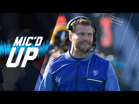 """Sean McVay Mic'd Up vs. 49ers """"Let's Go 11 Taco Right Here"""" 