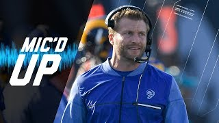 "Sean McVay Mic'd Up vs. 49ers ""Let's Go 11 Taco Right Here"" 