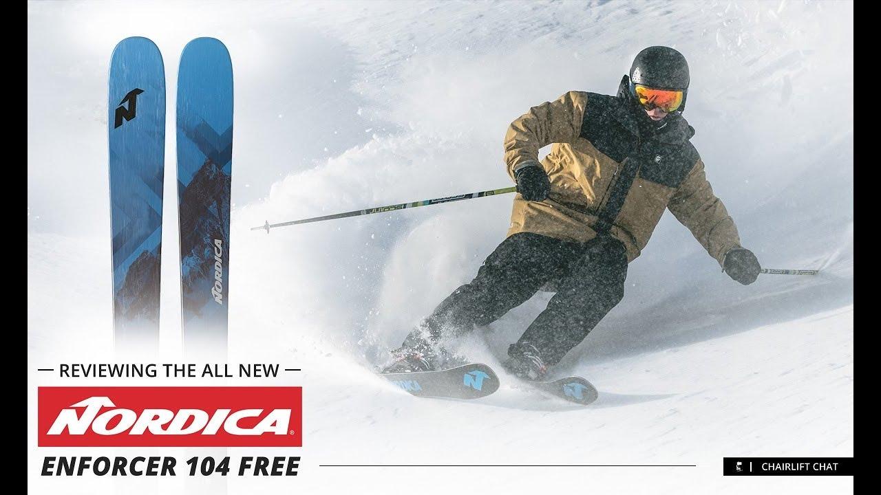 2020 Nordica Enforcer 104 Free Ski Review Youtube