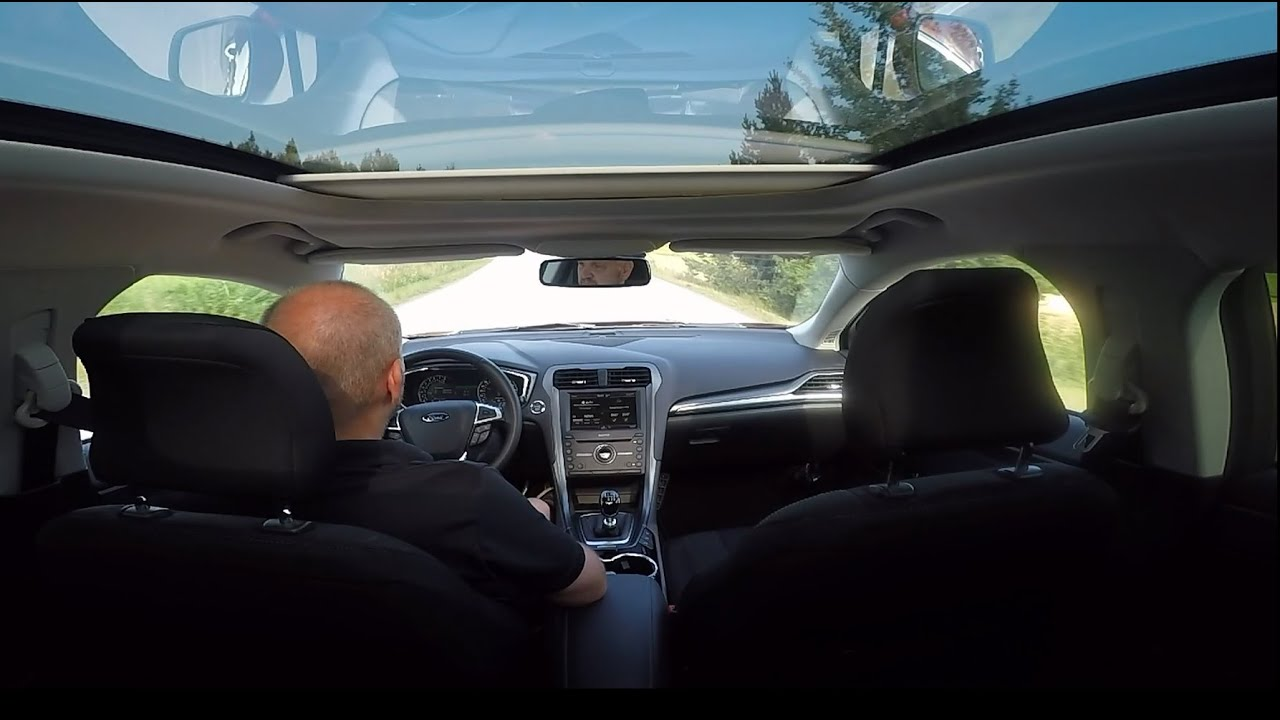 Panoramic Glass Roof Ford Mondeo Mk5 2015 Youtube