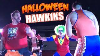 HAWKINS HALLOWEEN COSTUME CHALLENGE INDY WRESTLING EVENT!