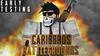 I WON!!! | ROBLOX CaribBros Battlegrounds