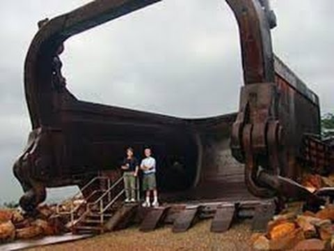 P&H 4100 XPB   самый большой механический экскаватор в мире