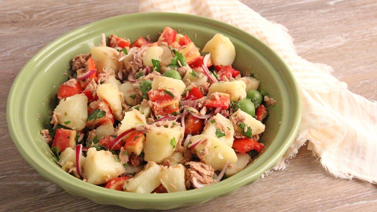 Potato And Tuna Salad Recipe