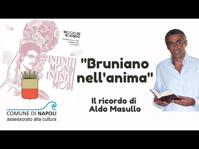 """""""Bruniano nell'anima"""". Guido Del Giudice ricorda il filosofo Aldo Masullo"""